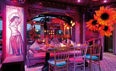 Arabesque restaurant incentive istanbul for Arabesque lebanon cuisine